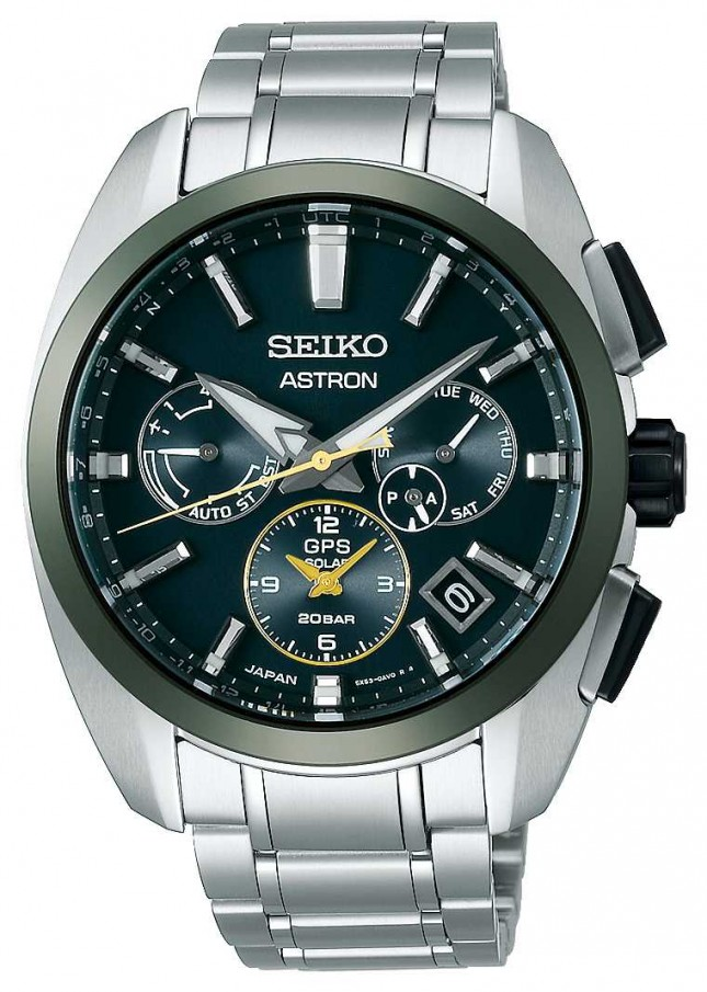 Seiko Astron GPS Limited Edition Green & Gold SSH071J1