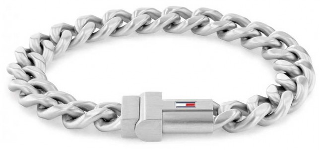 Tommy Hilfiger Men's Dressed Up | Stainless Steel Chain Bracelet 2790258