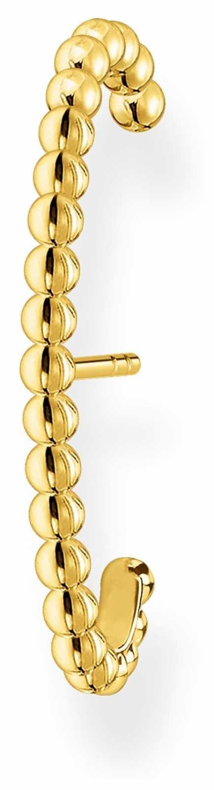 Thomas Sabo 18k Yellow Gold Plated Single Ear Cuff H2154-413-39