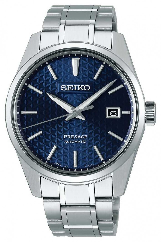 Seiko Presage | Mens | Blue | Dail | Stainless Steel | Watch SPB167J1
