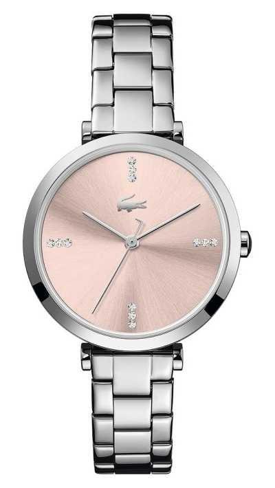 Lacoste   Women's   Geneva   Stainless Steel Bracelet   Pink Dial   2001145
