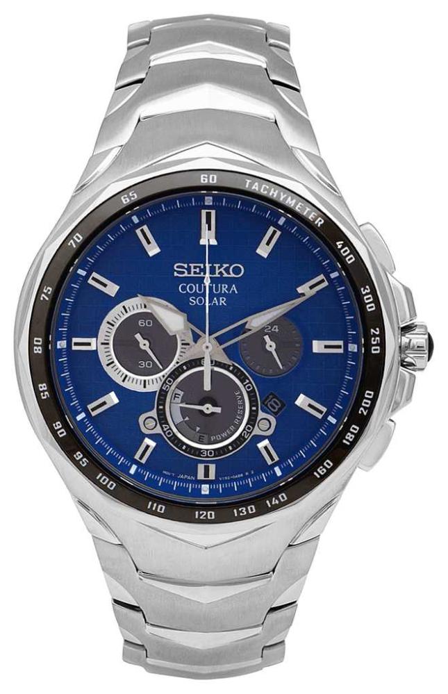 Seiko Coutura | Stainless Steel Bracelet | Blue Dial SSC749P1