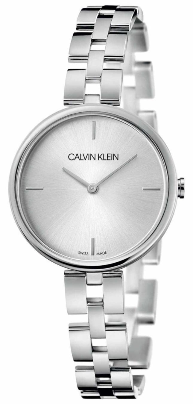 Calvin Klein Elegance   Stainless Steel Bracelet   Silver Dial KBF23146