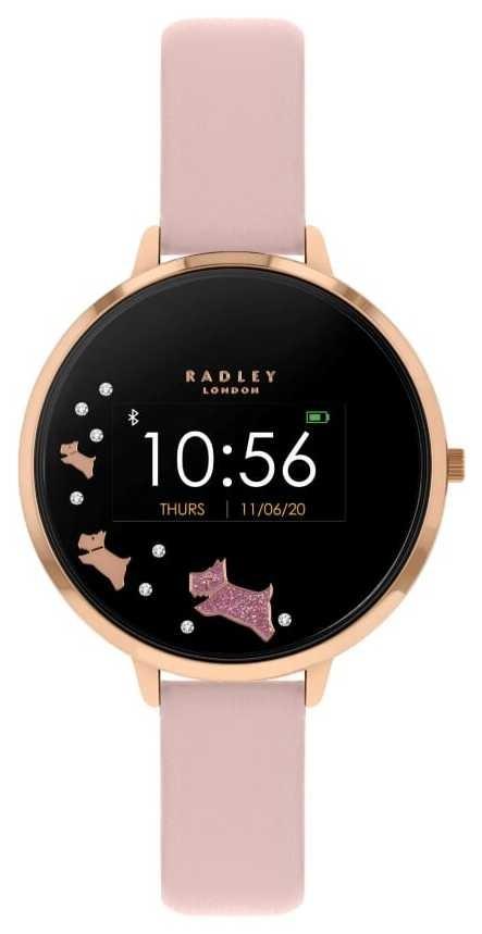 Radley Series 03 Activity Tracker | Pink Leather Strap RYS03-2002