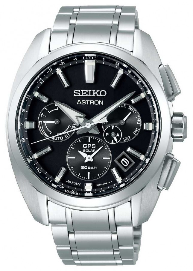 Seiko Astron | Titanium | solar | Black Dial | Chronograph SSH067J1