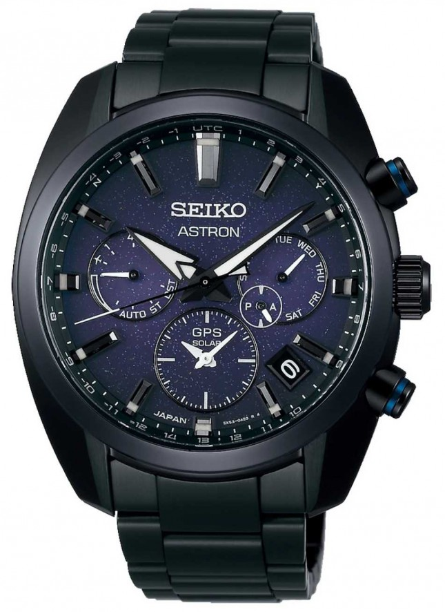 Seiko Astron | 'The Blue Nebula' | GPS Solar Powered | SSH077J1
