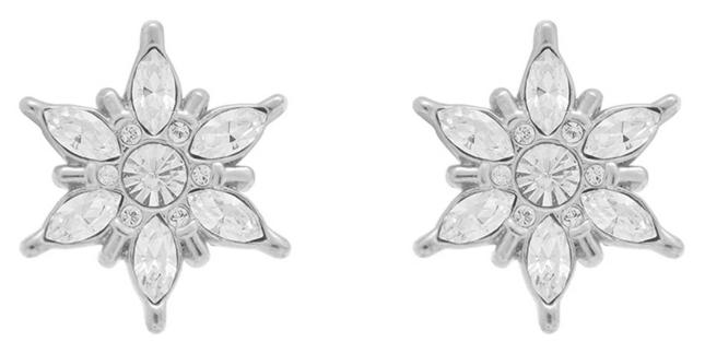 Olivia Burton Ice Queen | Silver Stud Earrings OBJIQE01