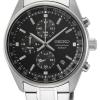 Seiko Men's Stainless Steel Bracelet   Black Chronograph Dial SSB379P1