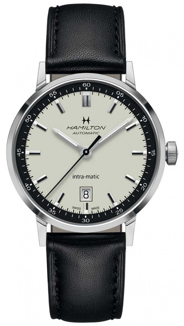 Hamilton American Classic | Intra-Matic Automatic | Black Leather H38425720