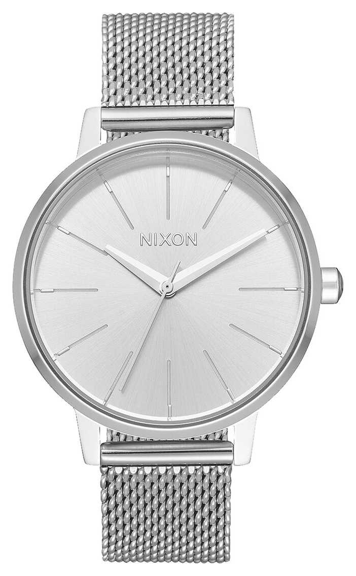 Nixon Kensington Milanese   All Silver   Stainless Steel Mesh   Silver Dial A1229-1920-00