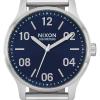 Nixon Patrol | Navy / Silver | Stainless Steel Bracelet | Blue Dial A1242-1849-00