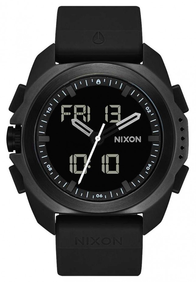 Nixon Ripley | Black | Digital | Black TPU Strap | A1267-000-00