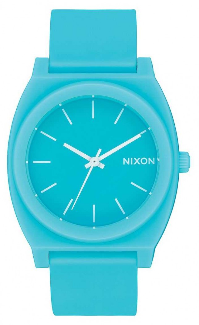Nixon Time Teller P | Matte Mineral Jade | Jade Silicone Strap | Jade Dial A119-3011-00