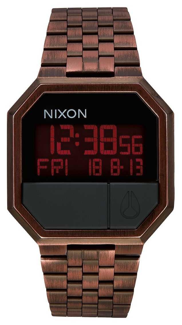 Nixon Re-Run | Antique Copper | Digital | Copper Coloured IP Steel Bracelet A158-894-00