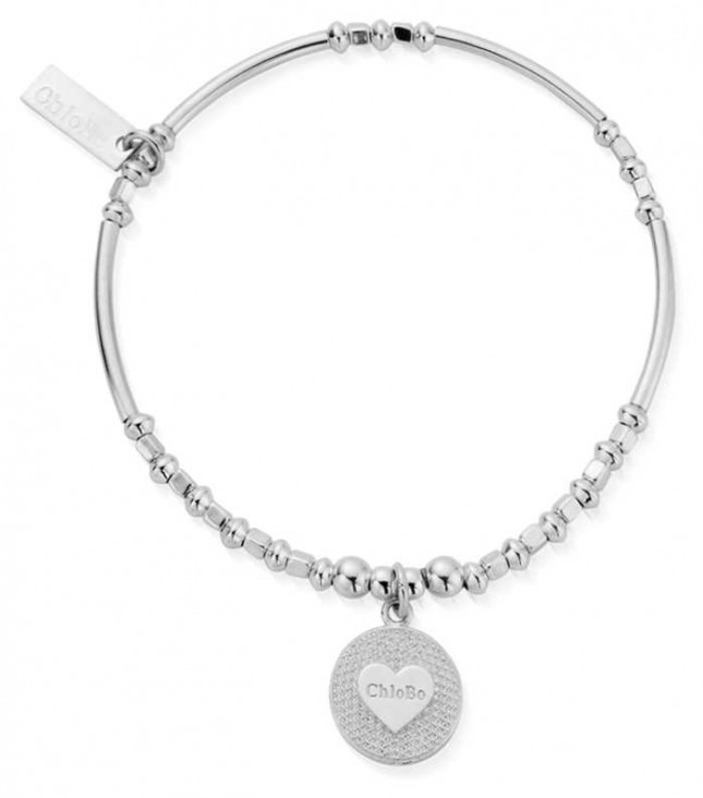 ChloBo   Circle Of Love Bracelet   Sterling Silver   SBBLKFRI20