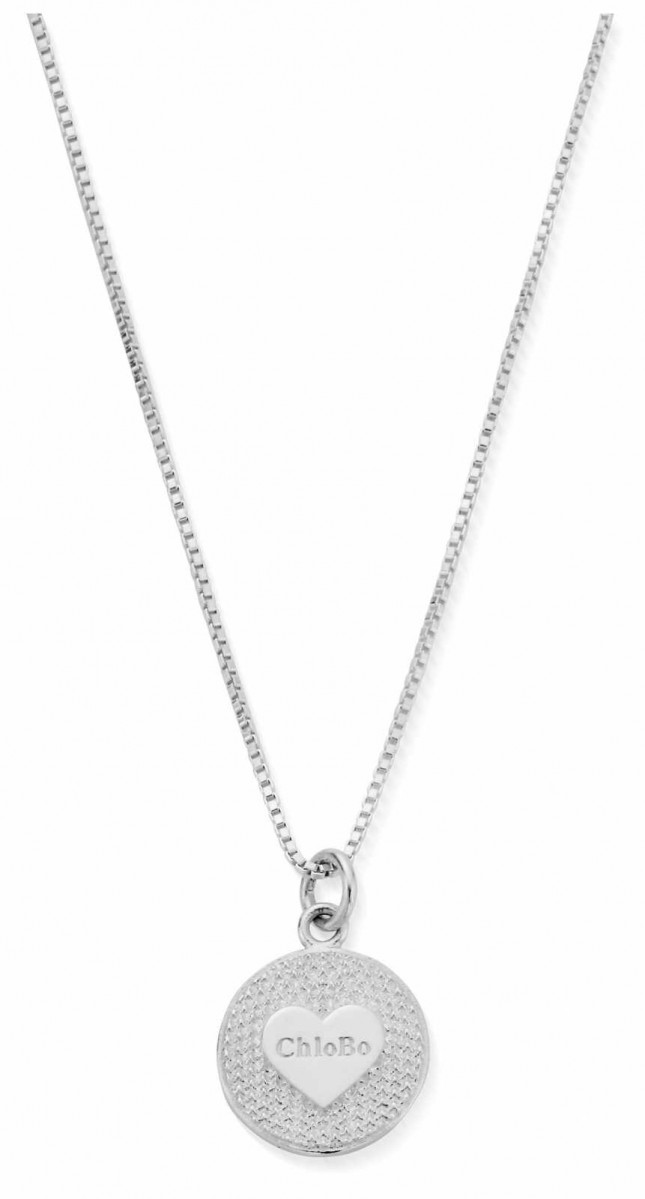 ChloBo Circle Of Love Necklace   Sterling Silver SNBLKFRI20