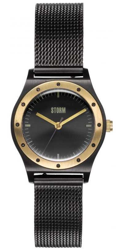 STORM Sian Slate | Slate Grey Mesh Bracelet 47485/SL