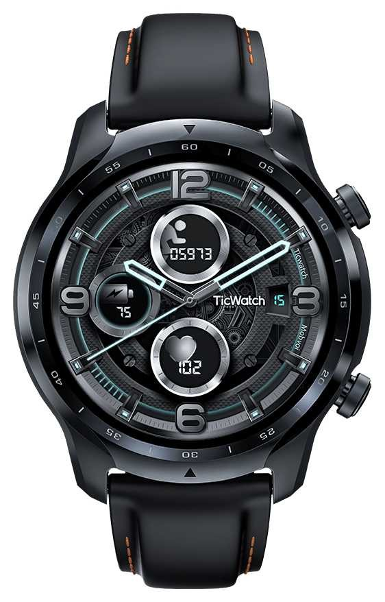 TicWatch | Pro 3 GPS | Qualcomm 4100 Platform Smartwatch | 143398-WH12018
