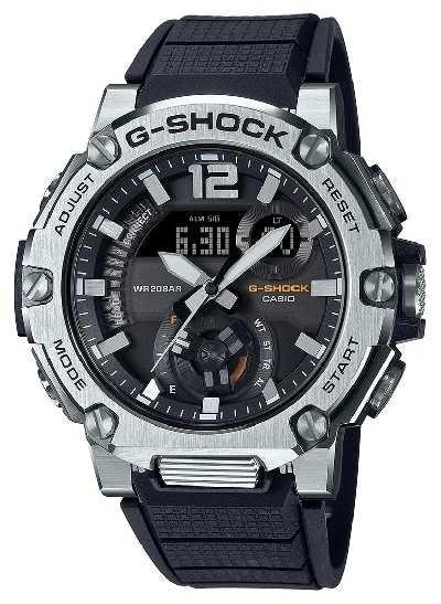 Casio | G-SHOCK | G-STEEL | Carbon Core Guard | Bluetooth | Solar | GST-B300S-1AER