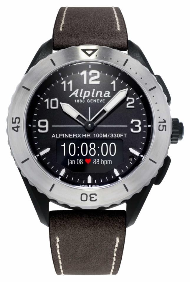 Alpina | AlpinerX Alive | Brown Leather Strap AL-284LBBW5SAQ6