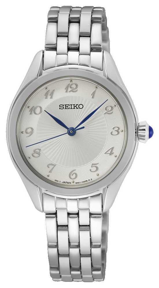 Seiko Women's Quartz | Stainless Steel Bracelet | Silver Dial SUR379P1