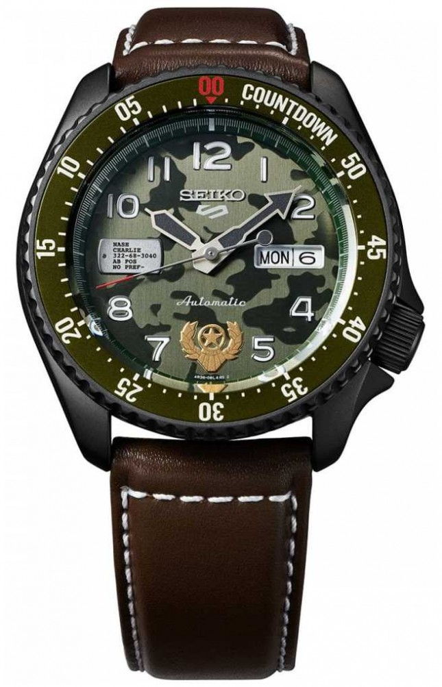 Seiko Limited Edition | Street Fighter | GUILE | Automatic SRPF21K1