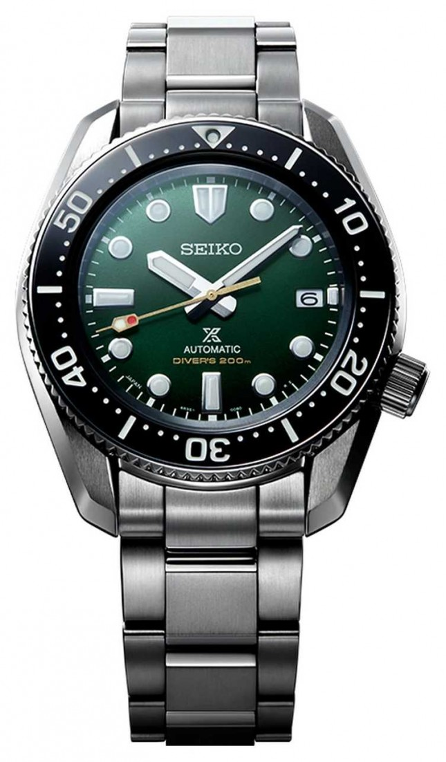 "Seiko Limited Edition Prospex ""Island Green"" 1968 Recreation Divers SPB207J1"