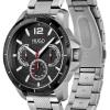 HUGO #Sport | Men's Stainless Steel Bracelet | Black Dial 1530195