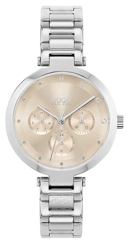 HUGO #HOPE Multi | Women's Stainless Steel Bracelet | Gold Dial 1540088