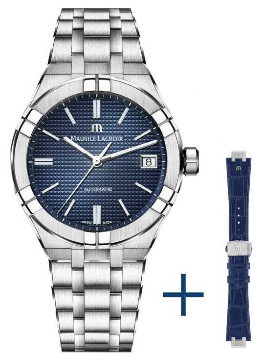 Maurice Lacroix Aikon Automatic Blue Dial 39mm AI6007-SS002-430-2