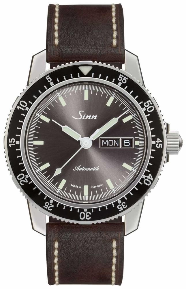 Sinn 104 St Sa I A   Dark Brown Vintage Leather 104.014 DARK BROWN VINTAGE LEATHER