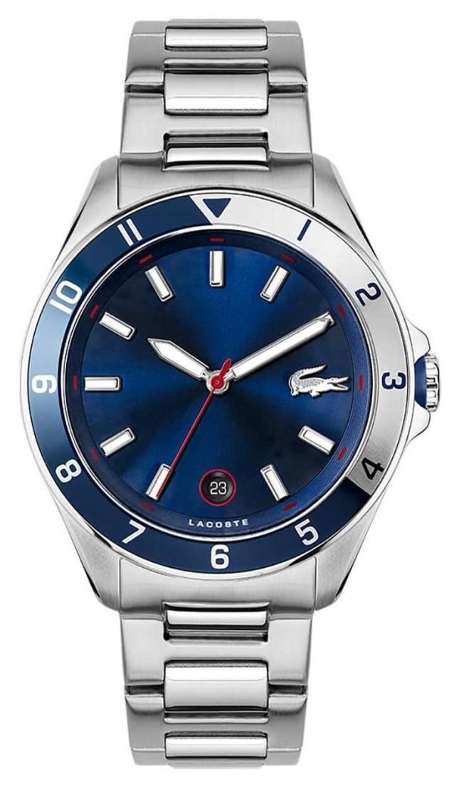 Lacoste Tiebreaker | Stainless Steel Bracelet | Blue Dial 2011127