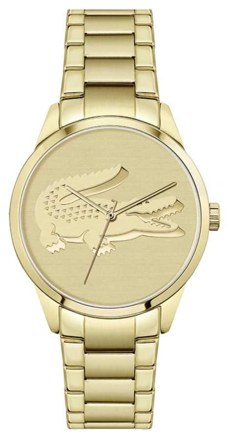 Lacoste Ladycroc | Gold Plated Bracelet | Gold Dial 2001175
