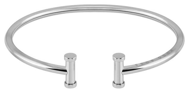 BOSS Jewellery Women's Stainless Steel Silver Bangle 1580164M