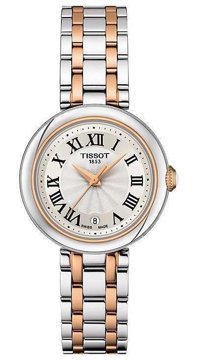 Tissot Bellissima | Silver Dial | Two Tone Stainless Steel Bracelet T1260102201301