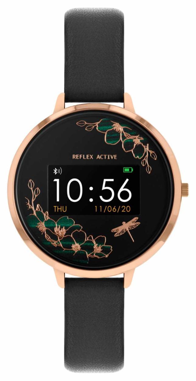 Reflex Active Series 3 Smart Watch | Black Strap RA03-2040