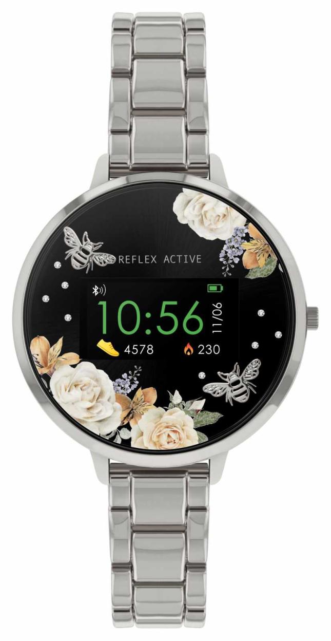 Reflex Active Series 3 Smart Watch | Stainless Steel Bracelet RA03-4007