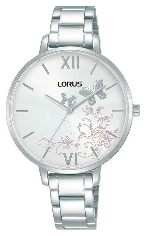 Lorus Womens | White Sunray Dial | Stainless Steel Bracelet RG201TX9