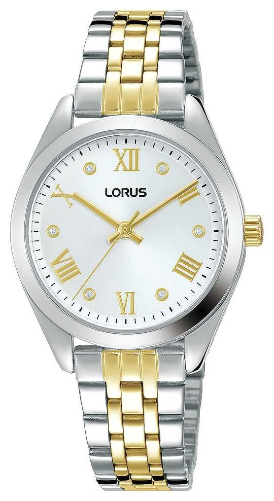 Lorus Womens | Silver Dial | Two Tone Stainless Steel Bracelet RG253SX9
