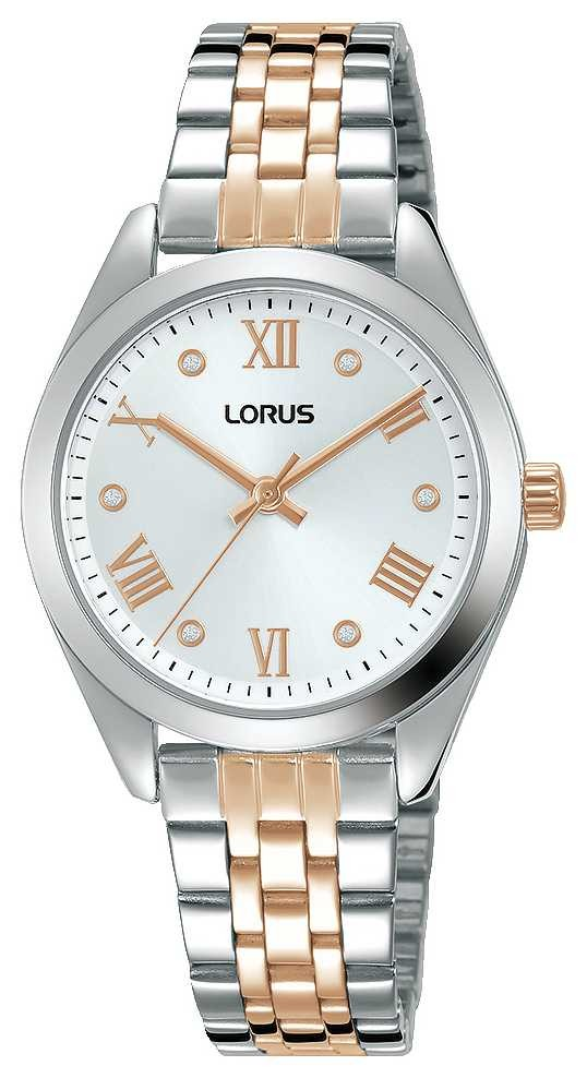 Lorus Womens | Silver Dial | Two Tone Stainless Steel Bracelet RG255SX9
