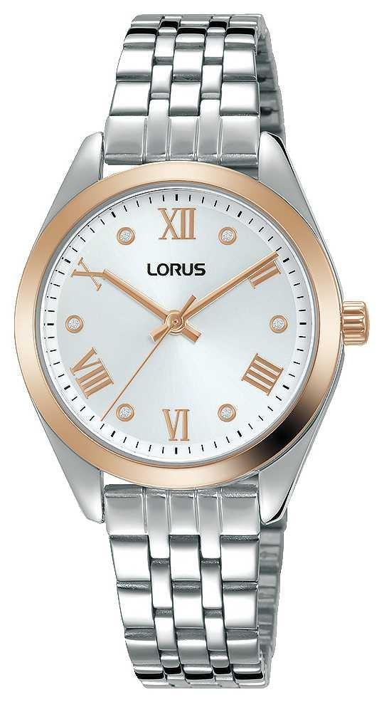 Lorus Womens | Silver Dial | Stainless Steel Bracelet RG256SX9