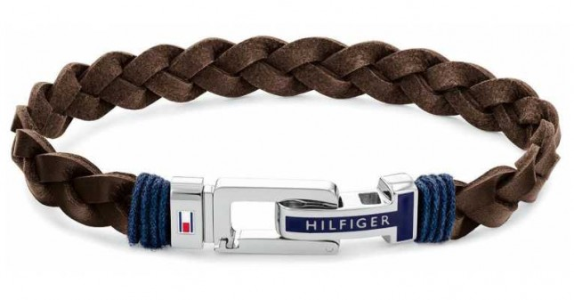 Tommy Hilfiger Casual | Brown Leather Bracelet 2790309