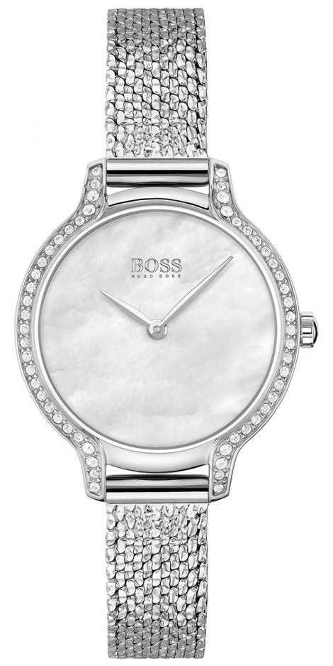 BOSS | Gala | Women's | Stainless Steel Mesh Bracelet | Silver Dial | 1502558