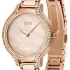 BOSS | Gala | Women's | Rose Gold Bracelet | Rose Gold Pearl Dial | 1502556