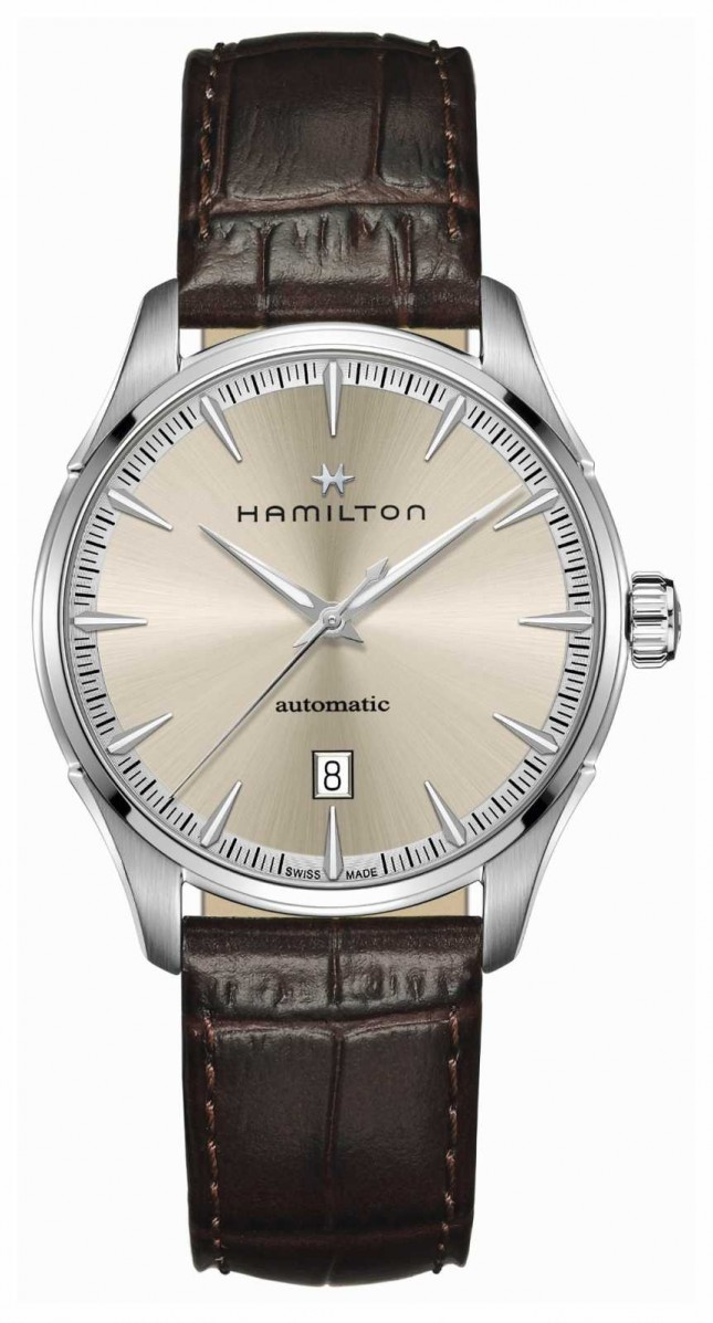 Hamilton Jazzmaster | Auto | Brown Leather Strap | Champagne Dial H32475520