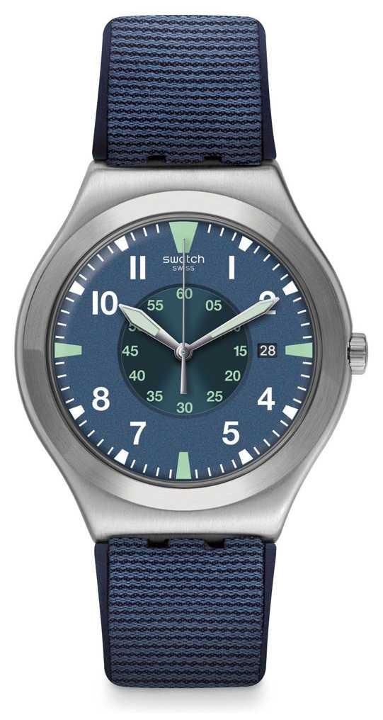 Swatch Teorya | Blue Dial | Blue Silicone Strap YWS455