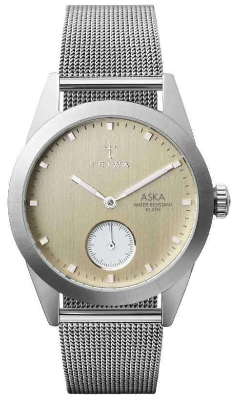 Triwa Birch Aska Super Slim Mesh Bracelet AKST104-MS121212