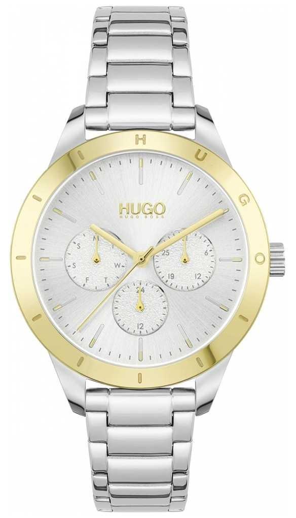 HUGO #FRIEND | Stainless Steel Bracelet | Silver Dial 1540090