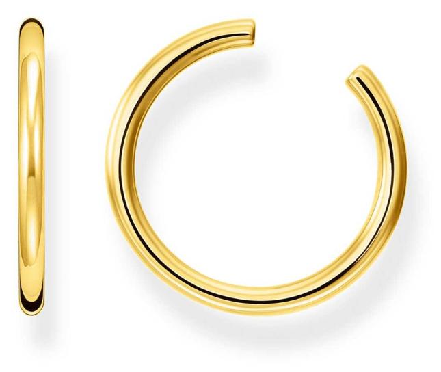 Thomas Sabo Gold Plated Large Single Ear Cuff EC0027-413-39