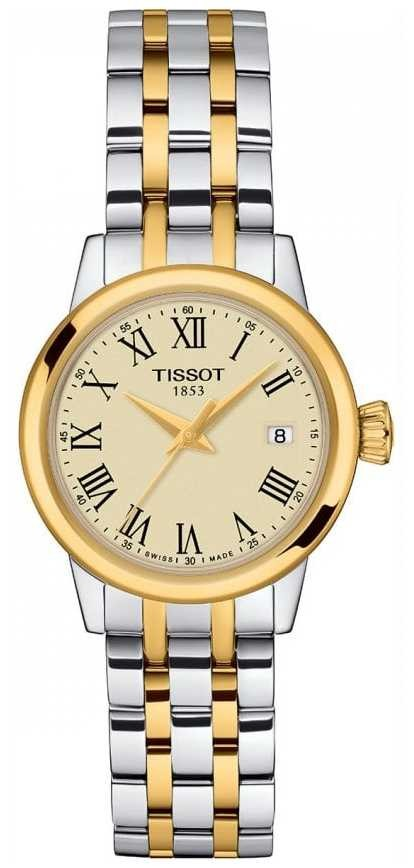 Tissot Womens | Classic Dream | Champagne Dial | Two Tone Stainless T1292102226300